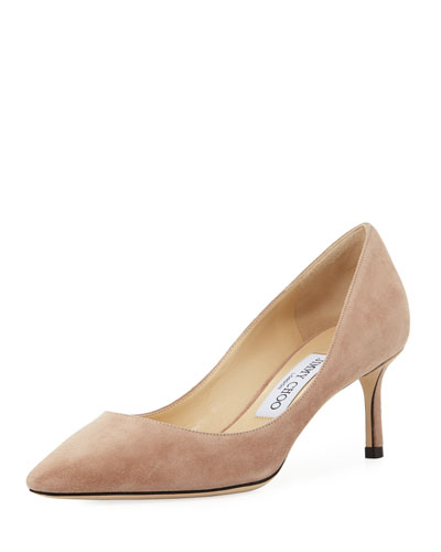 Romy Suede 60mm Pump