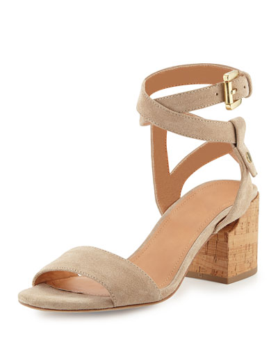 Rina Suede City Sandal