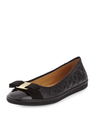 Quilted Ballerina Flat