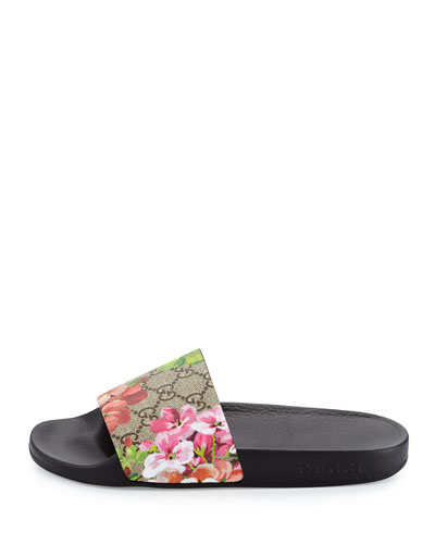 Gucci Pursuit Blooms Slide Sandal