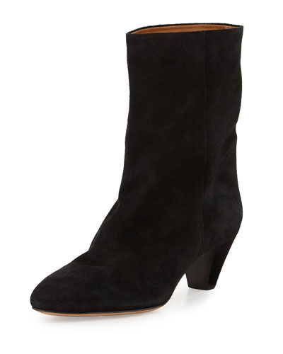 Dyna Suede Ankle Boot