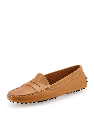 Leather Gommini Moccasin