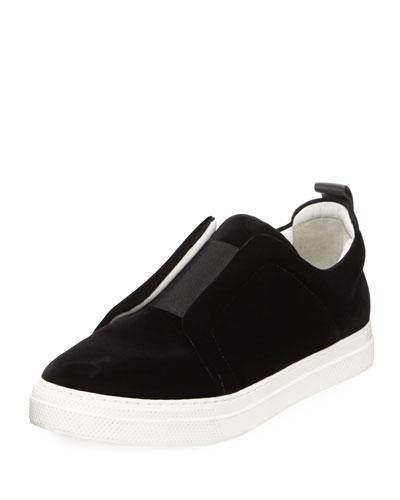 Velvet Slider Sneaker