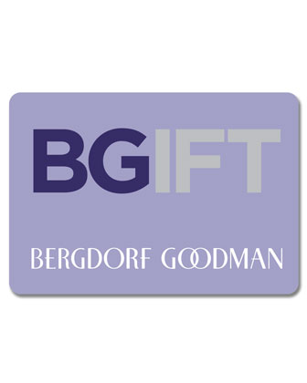 Bergdorf Goodman Traditional Gift Card