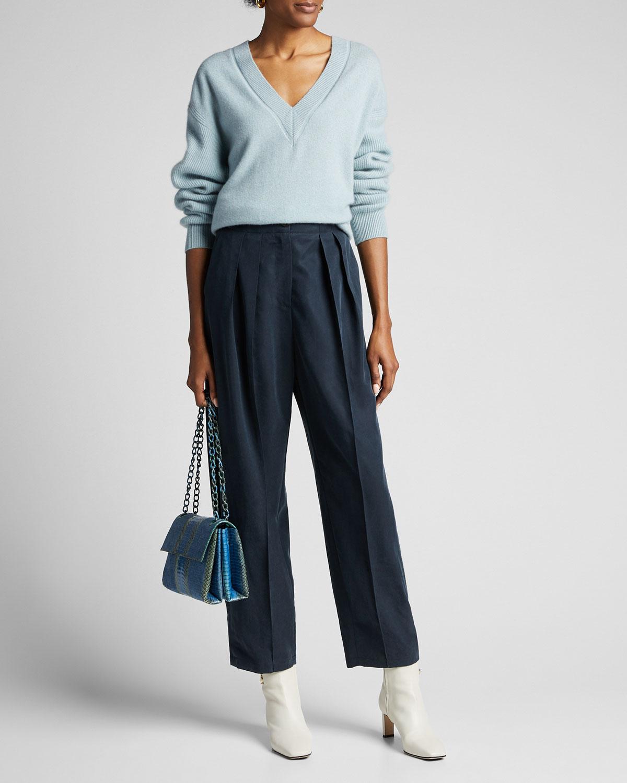 Rag & Bone Sweaters LOGAN CASHMERE V-NECK SWEATER