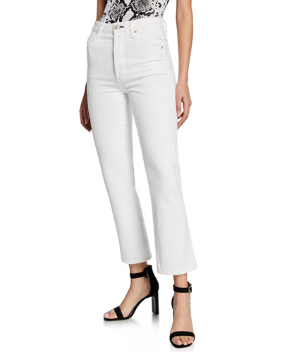 Chloe Crop High-Rise Jeans