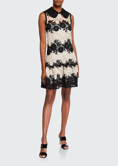 Macrame Lace Sleeveless Dress