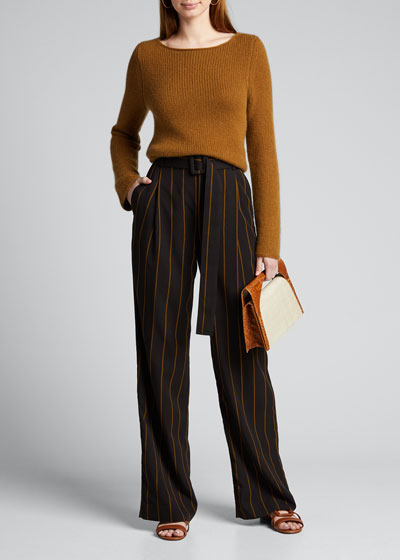 $225 Vince tobacco italian linen cotton drawstring cargo shorts S mens NEW