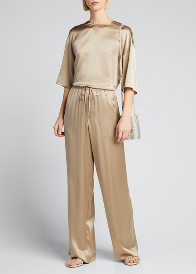 Satin Pajama Pants