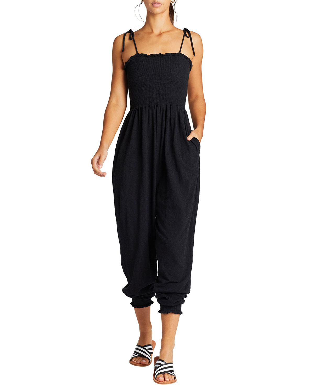 Vitamin A MOONLIGHT COVERUP JUMPSUIT