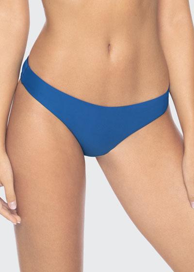 Basic Ruched Hipster Bikini Bottoms