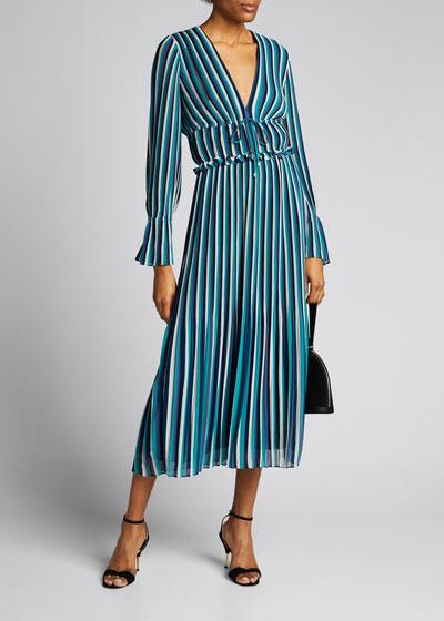Hazel Printed Dress