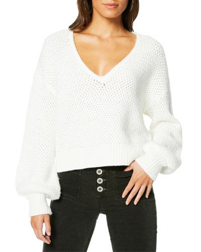 Ralphie Knit V-Neck Sweater