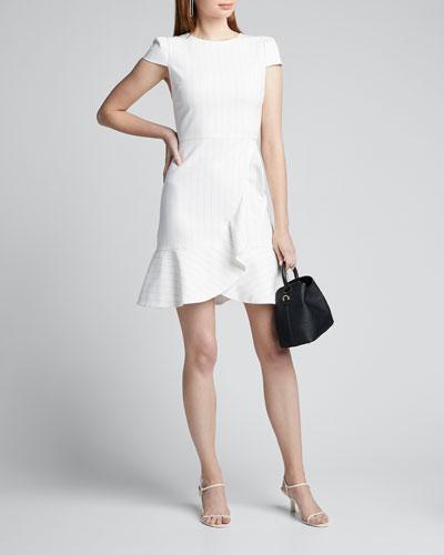Kirby Ruffled Cotton Dress