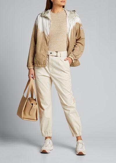 Olive Zip-Up Jacket