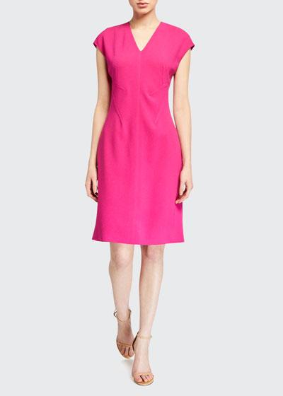 Fern Crepe Sheath Dress