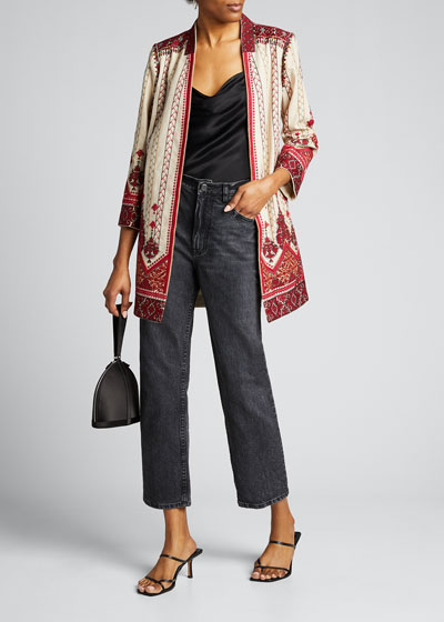 Lexy One-Button Coat