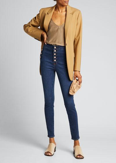 Natasha Sky High Skinny Jeans - Inclusive Sizing