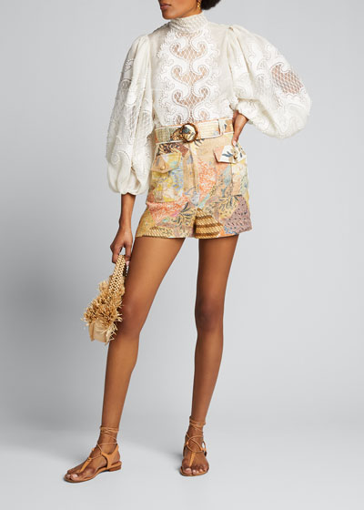 Brightside Knot Embroidered Blouse