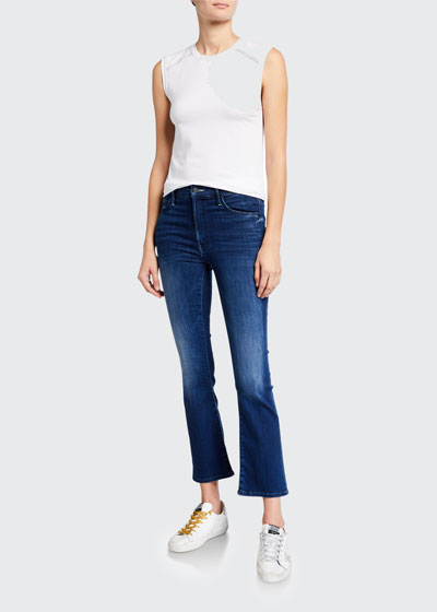 The Insider Ankle Straight-Leg Jeans