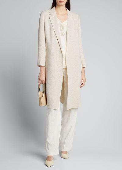 Nicholas Linen Dune Cloth Jacket