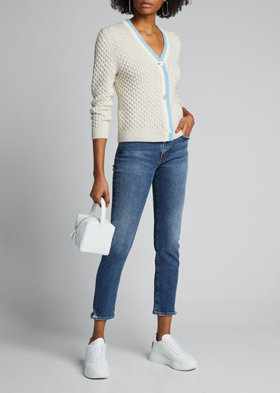 Toni Stratosphere Mid-Rise Slim Straight Jeans