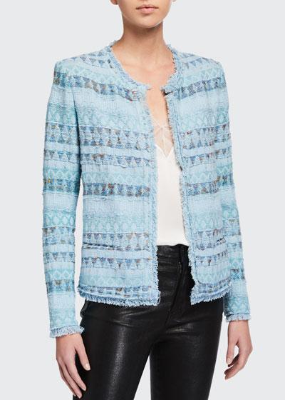 Louisa Open-Front Jacket