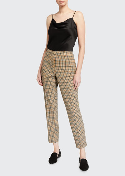 Marcia Check Ankle Pants