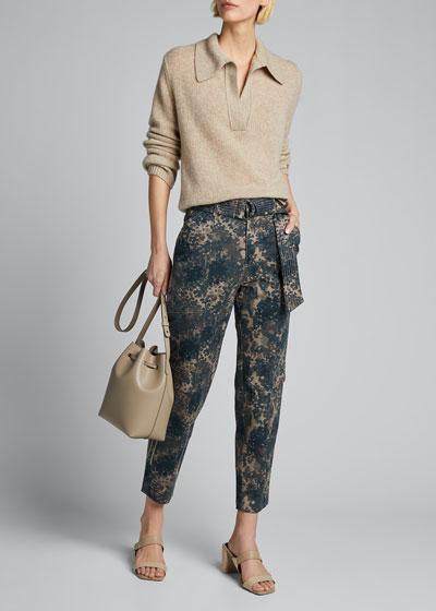 Athena Belted Surplus Pants