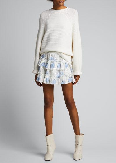 Bliss Tiered Mini Skirt