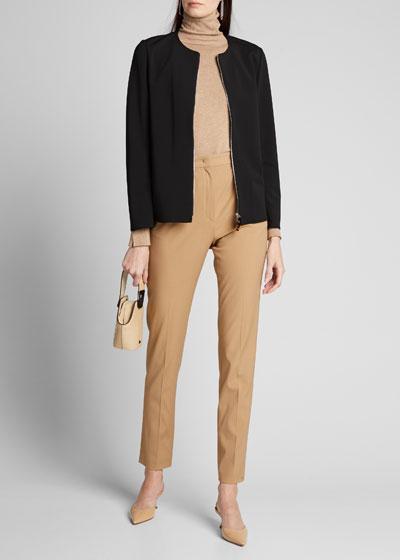 Nolan Secco Stretch Zip-Front Jacket