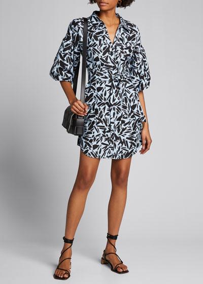 Samy Printed Shirtdress