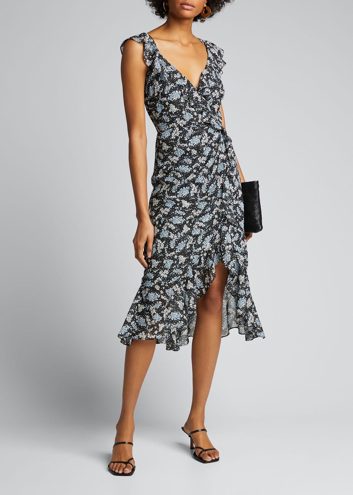 Veronica Beard Dresses AMAL FLORAL-PRINT DRESS
