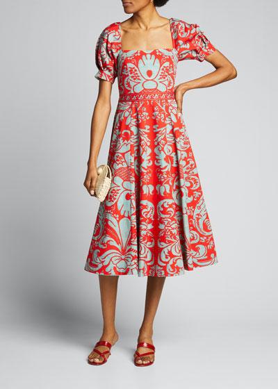Fredia Flare Dress