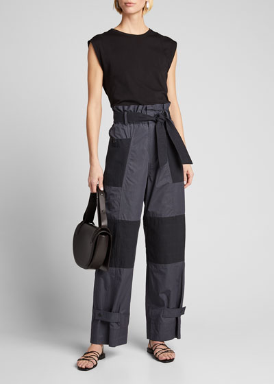 Gabriette Quilted Pants