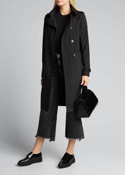 Trench Coat w/ Detachable Hood