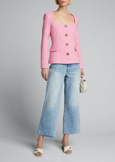 Ria Square-Neck Jacket