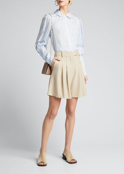 Ally Striped Blouse