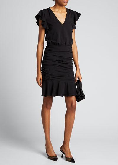 Lisette V-Neck Dress