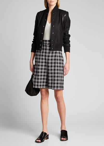 Side Sleeveless V-Neck Pullover