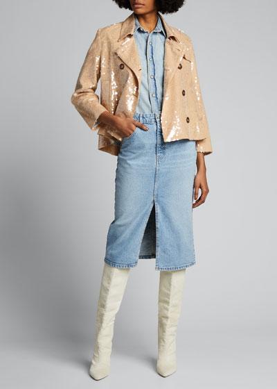 Darya Sequined Jacket
