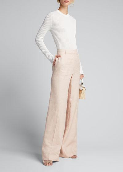Siena Long-Sleeve Crewneck Pullover