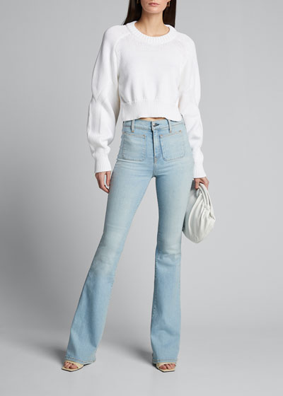 Florence High-Rise Flare Jeans