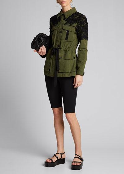 Heritage Utility Jacket w/ Lace