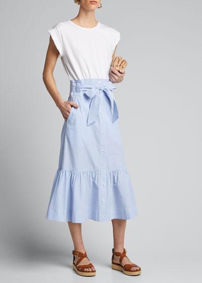 Capri Combo Midi Dress