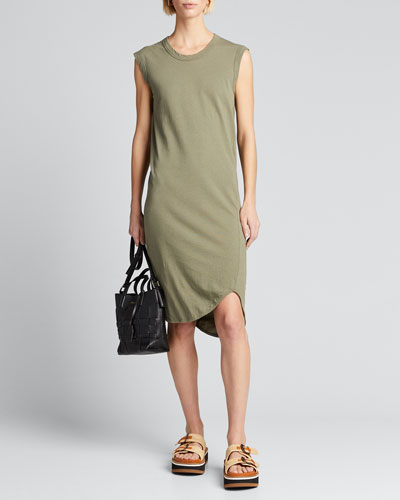Fitted Muscle Tank Dress