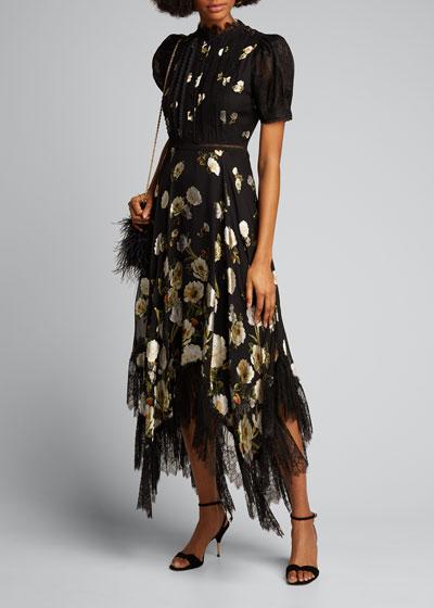 Bettina Floral Handkerchief Dress