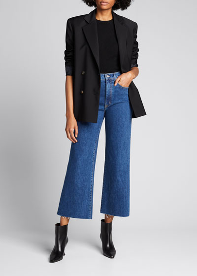 Grace Cropped Flare Jeans