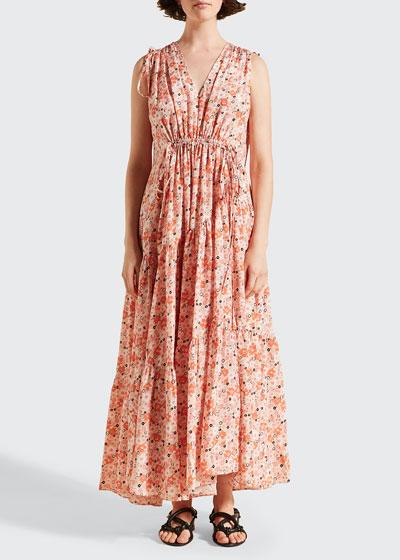 Bree Silk Sleeveless Dress