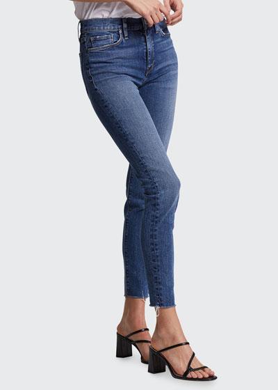 Barbara Skinny Ankle Jeans